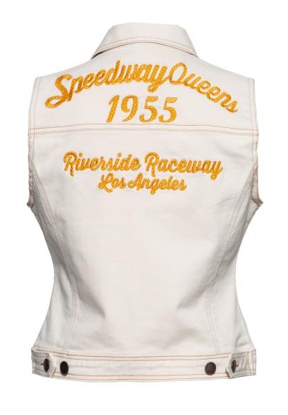 Jeans Weste »Speedway Queen«