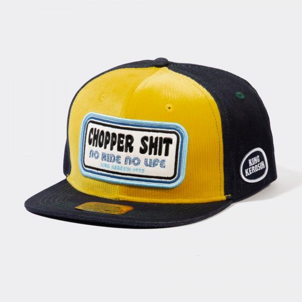 Snapback Cap mit Cord-Front »Chopper Shit«