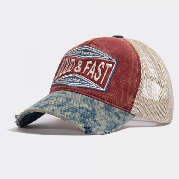 Trucker Cap im Used-Look »Loud & Fast«