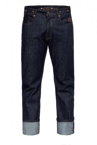 5-Pocket Jeans mit Hosenträger-Knöpfe »Robin«