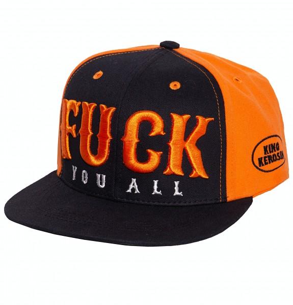 Snapback Cap »Fuck U All 3D«