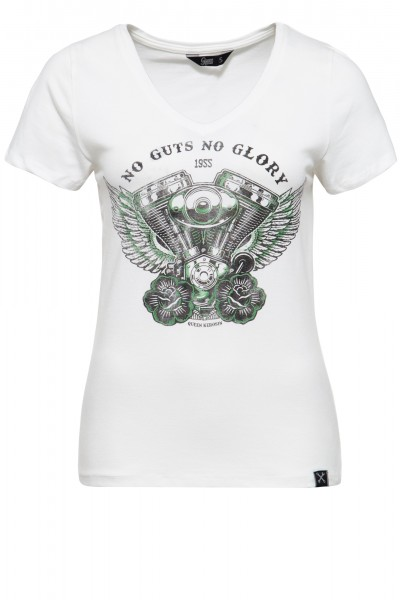 Printshirt »No Guts No Glory« - Bild