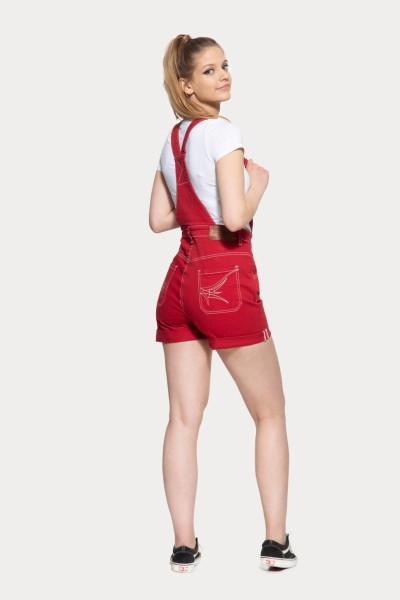 Denim Latz-Shorts