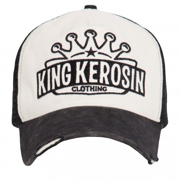 KING KEROSIN Cap mit Logo-Schriftzug
