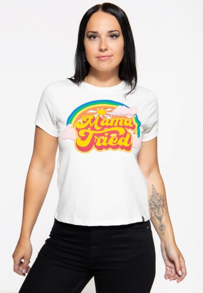 Wide Fit T-Shirt »Mama Tried«