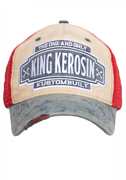 KING KEROSIN Trucker Cap im Vintage-Look