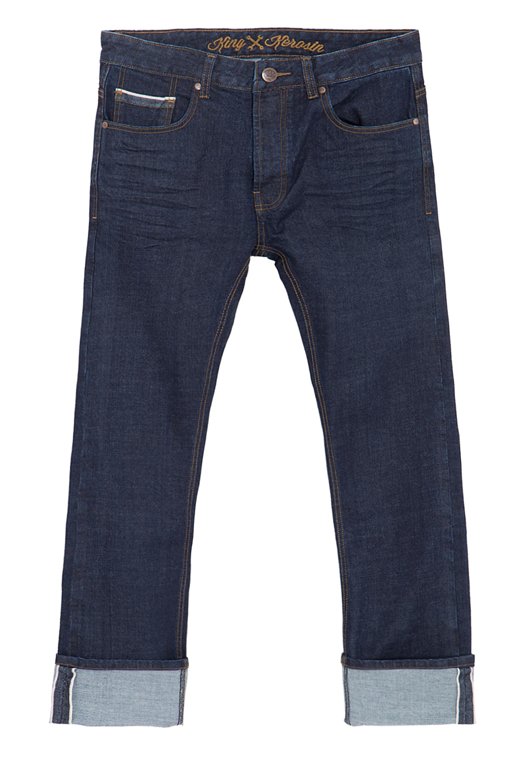 king kerosin selvedge jeans in cleanem rinsed wash king. Black Bedroom Furniture Sets. Home Design Ideas
